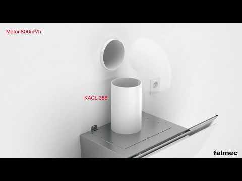 FALMEC  Verso Döntött Fali Páraelszívó Telepítési útmutató