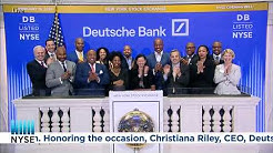 Deutsche Bank (NYSE: DB) Rings The Opening Bell®