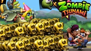 Zombie Tsunami All Level Unlock Zombie Gold And Zombie Quarterback Mega Run Gameplay