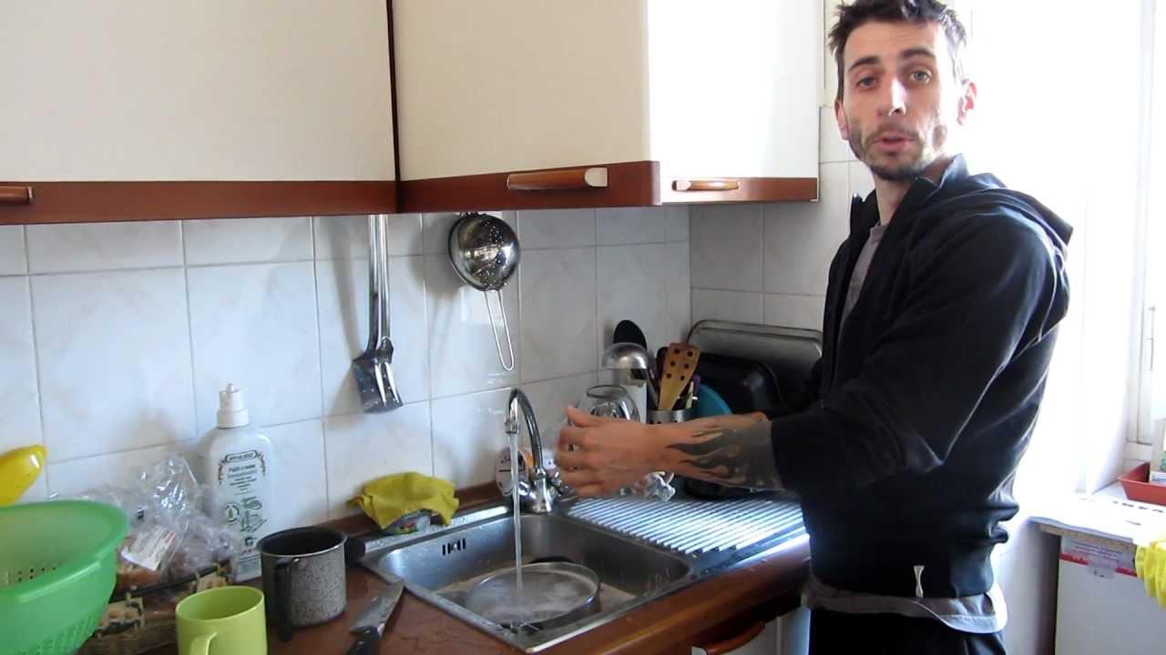 come lavare i piatti - youtube