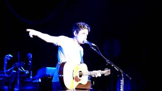 John Mayer - Slow Dancing In A Burning Room (acoustic) - Raleigh, NC 7.17.2010
