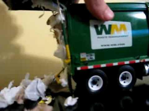 Diecast Toy Garbage Trucks Youtube