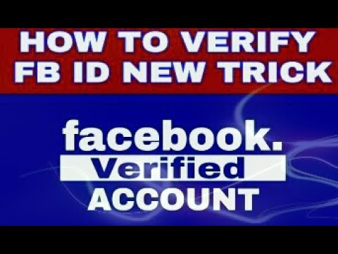 How To Get Verified On Facebook Account
