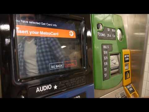 BPVNY [Tuto] Comment utiliser le métro et acheter une MetroCard à New York ?