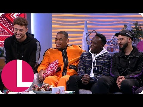 X Factor Winners Rak-Su Are Staying Tight-Lipped About Their Love Lives | Lorraine