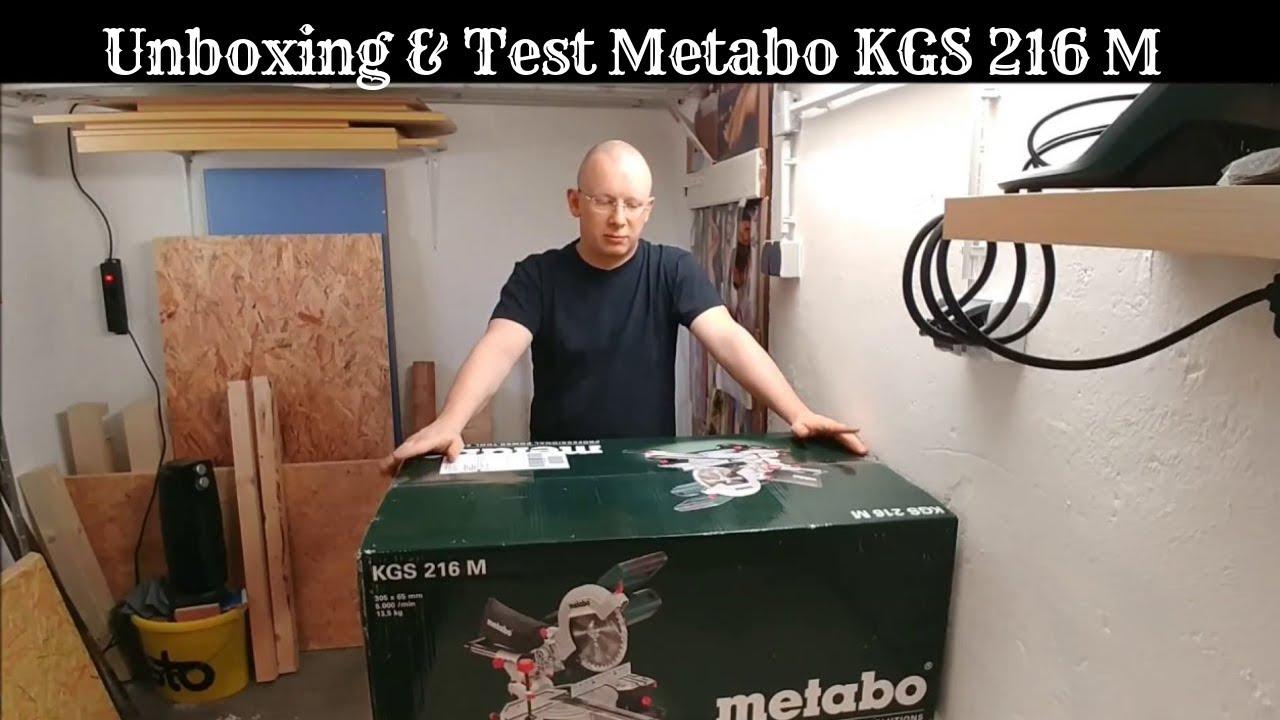 Metabo Kgs 216 M Test : unboxing test metabo kgs 216 m zug kapps ge youtube ~ Watch28wear.com Haus und Dekorationen