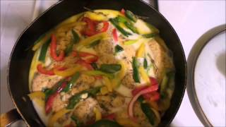 Chicken in Coconut Milk   part 2