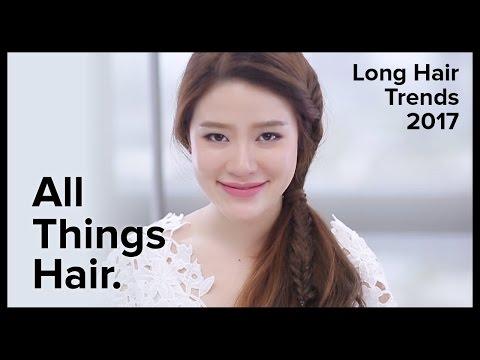 10 แบบทรงผมยาว เทรนด์ผมยาว 2017 by Nina   All Things Hair - How-to