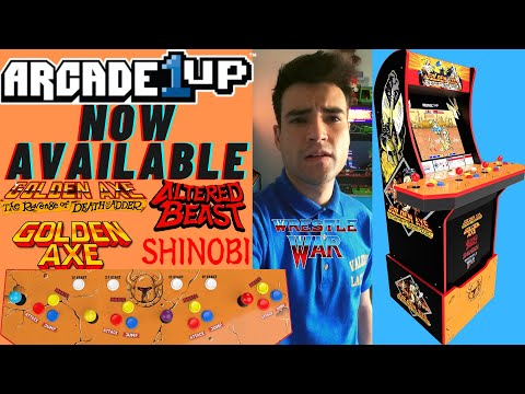 ARCADE1UP GOLDEN AXE CABINET NOW AVAILABLE - GOPRO HERO 9 BLACK from Brick Rod
