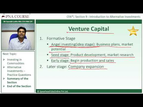 Chartered Financial Analyst | Different Stages of Venture Capital