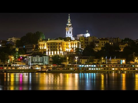 Belgrade at Night (Serbia)