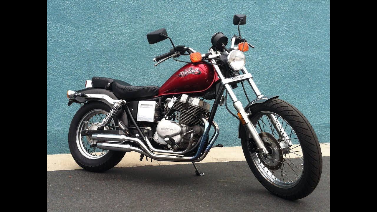 Nelly's Garage - 1985 Honda Rebel 250 CMX250C Motorcycle - YouTube