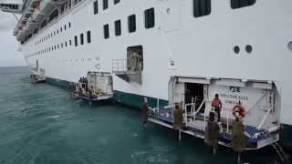 Cruise Ship Tender Boat To Belize City