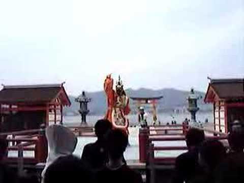 嚴島神社高舞台