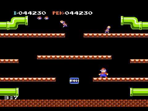 Mario Bros. (NES), русская версия