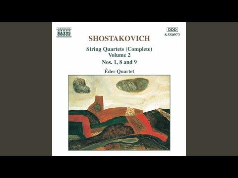 String Quartet No 8 in C Minor, Op 110: III Allegretto