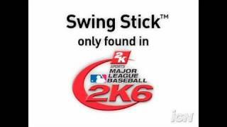 Major League Baseball 2K6 Xbox Gameplay - Swing Stick