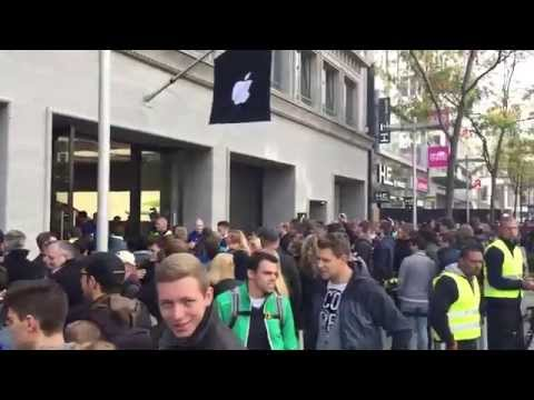 Apple Store Eröffnung Hannover - Apple Store Hannover Grand Opening LIVE