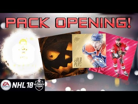 PACK OPENING! ANOTHER ONE!? BIG PULL (NHL 18 HUT)