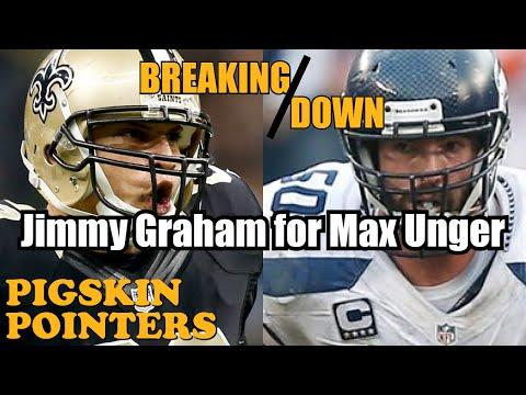 Max Unger Highlights (Jimmy Graham Trade)