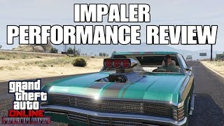 GTA ONLINE // IMPALER PERFORMANCE REVIEW (TOP SPEED AND LAP TIME)