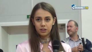 Чествование олимпийской чемпионки игр в Рио Маргариты Мамун