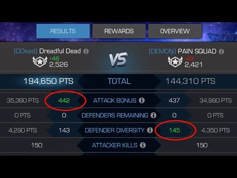 Which Is More Important In Alliance War: Diversity Or Attack Bonus?