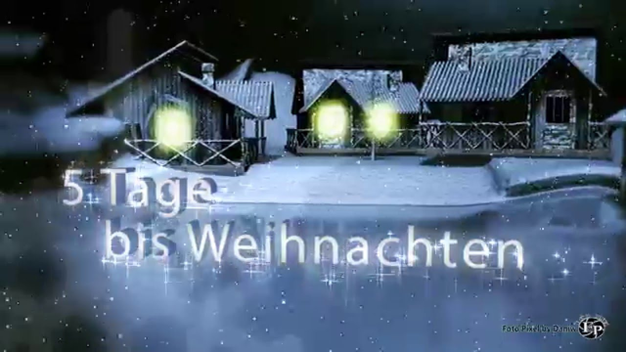 noch 5 tage bis weihnachten youtube. Black Bedroom Furniture Sets. Home Design Ideas