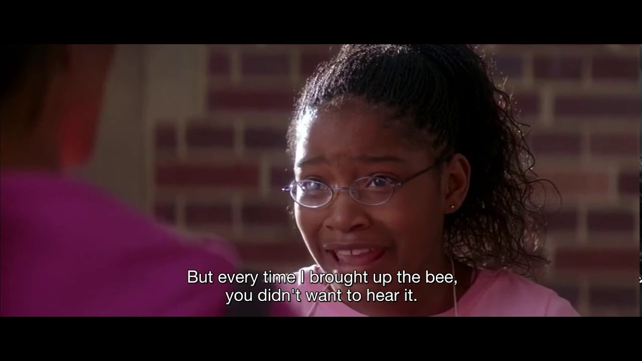 Download AKEELAH AND THE BEE! She lied to her mother but she win the contest. #AKEELAHandtheBEE #SPELLINGBEE