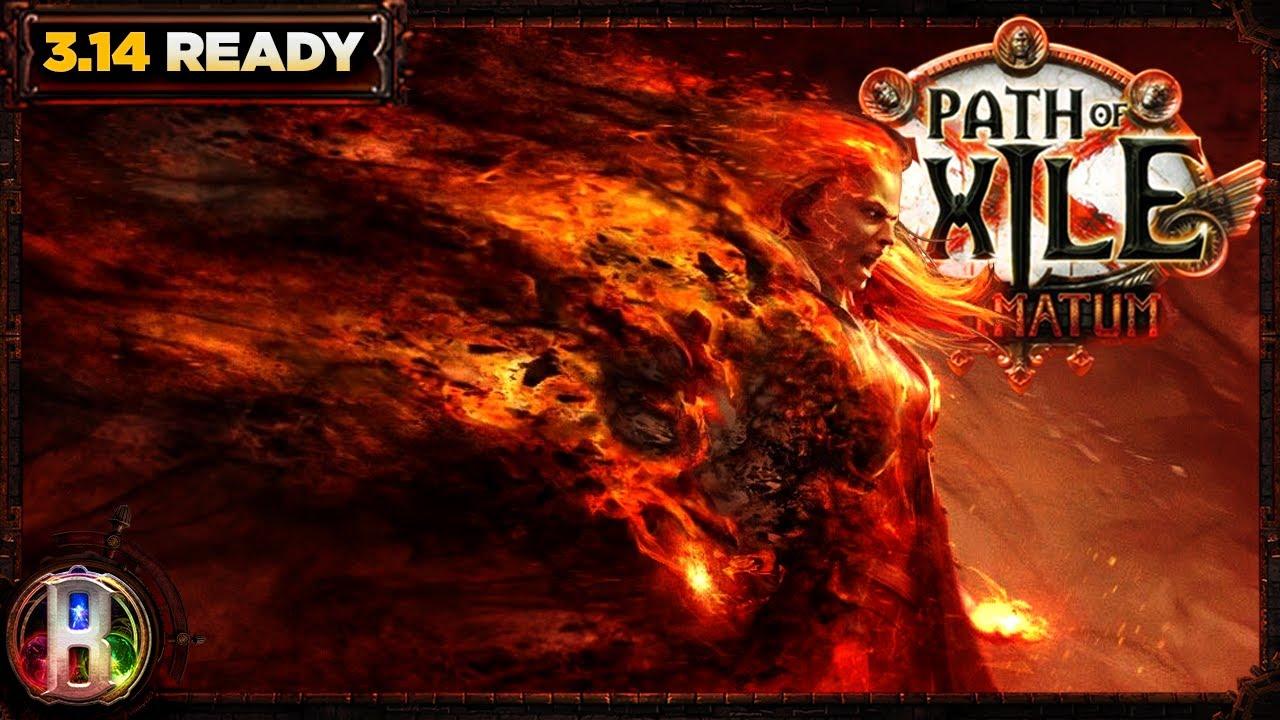 Download Path of Exile 3.14 - Ignite Autobomber Build - Elementalist Witch - PoE Ultimatum - PoE 3.14