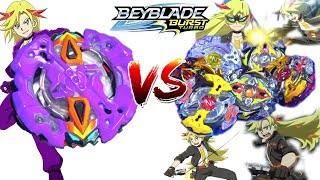 Asteroid Zeutron VS All Zeus Zeutrons BEYBLADE BURST TURBO