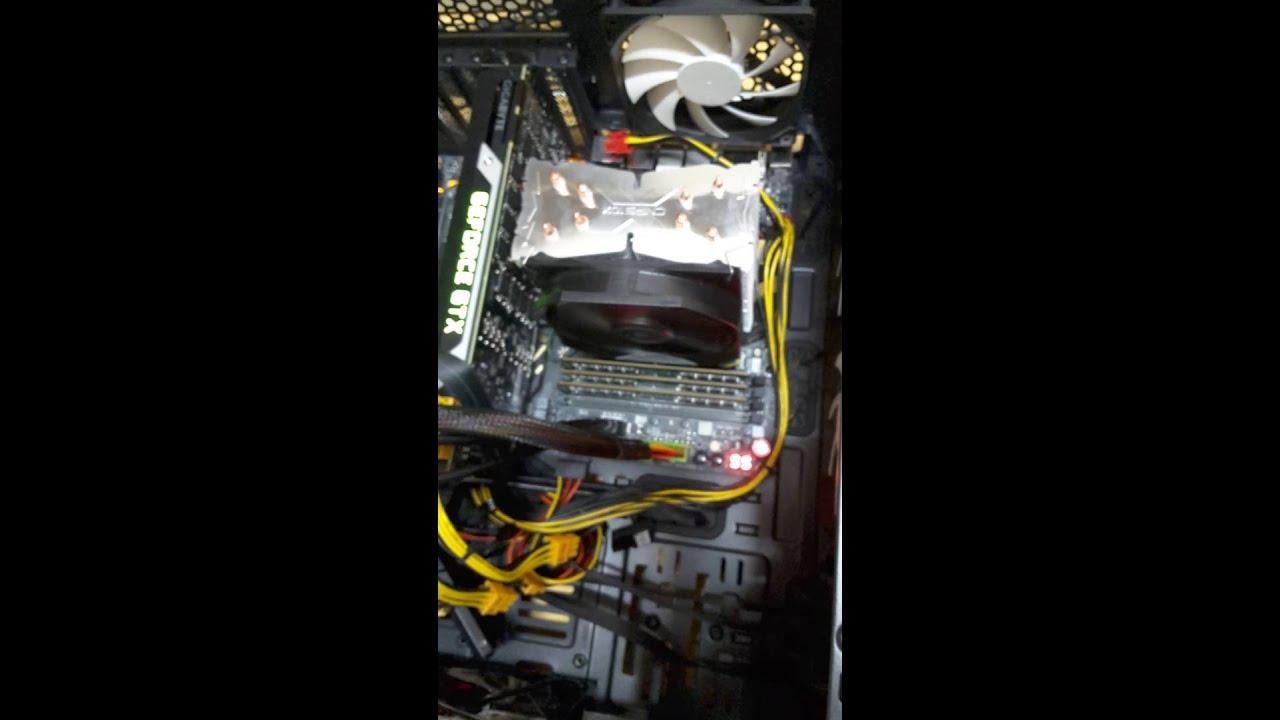 Gigabyte z170-ud5 mob ram initializayion error 55