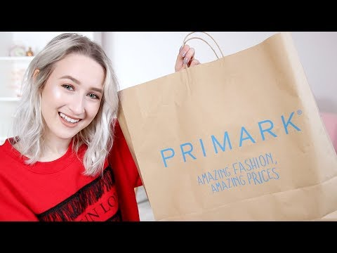 PRIMARK HAUL February 2018 (TRY ON)   Sophie Louise
