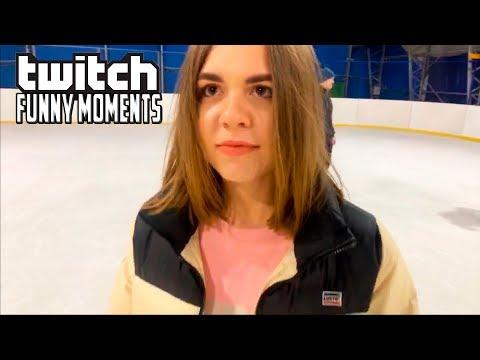Топ Моменты с Twitch | Сходил с Девушками на Каток