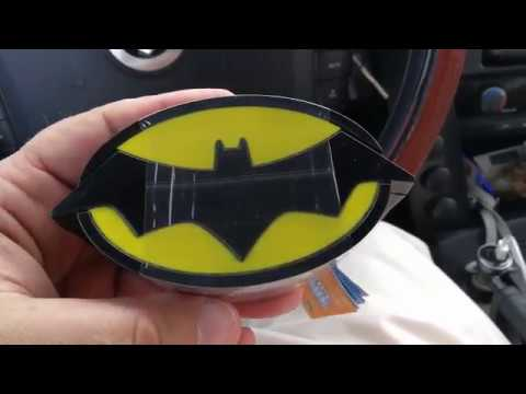 Batman Justice League candy box in Dubai 08.02.2018