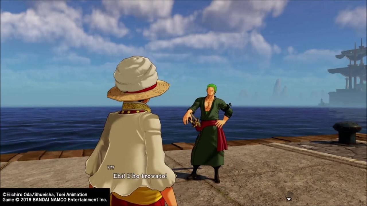 One Piece World Seeker Spadaccino Perduto Where Is Zoro Youtube
