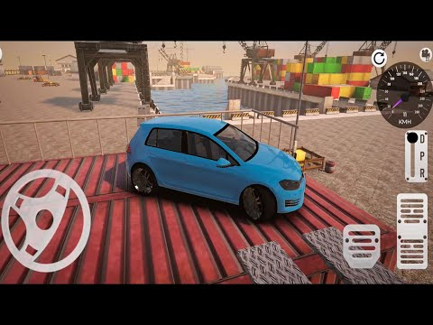 Seaport Real Car Parking School - Fun Mode Level 1-11 - Android Gameplay