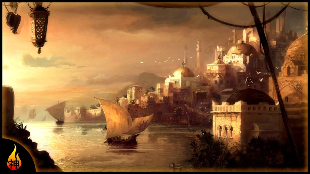 Arabian Music | City By The Sea | Ambient Arabian Desert Music