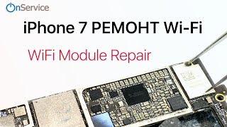 iPhone 7 Almashtirish wi-fi moduli . iPhone 7 Modul Ta'mirlash WiFi