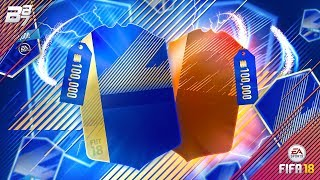 100K LIGHTNING ROUND! TEAM OF THE SEASON PACK OPENING! | FIFA 18 ULTIMATE TEAM