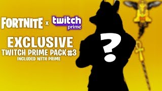 FORTNITE SALVA IL MONDO SARA' GRATIS PER TUTTI | Twitch Prime Pack #3 RELEASE DATE SEPTEMBER ?