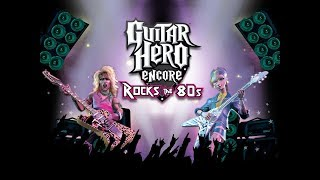 guitar hero rock the 80s gameplay PS2