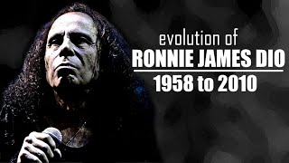 The Evolution of Ronnie James Dio (1958 to 2010)