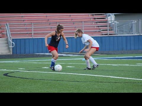 West Monroe High School Lady Rebel Soccer Camp 2018 - Pt 1