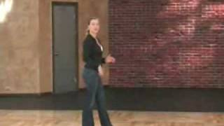 Country Western 2-Step lesson (SL-149) Beginning to Intermediate Ronnie DeBenedetta & Brandi Tobias