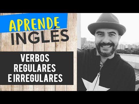 Como identificar un verbo regular o irregular en ingles