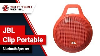 JBL Clip Portable Bluetooth Speaker Product Review  – NTR