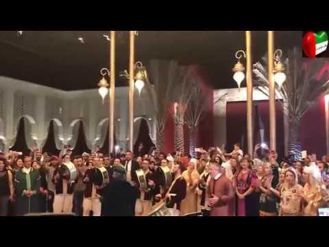 محمد الدرهم يشعل حماس الحضور ويبدع في اغنية الله يا مولانا -المغرب في ابو ظبي