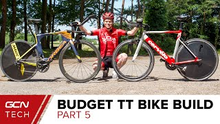 Time Trial Super Bike VS Budget TT Bike | GCN Tech's Aero Showdown