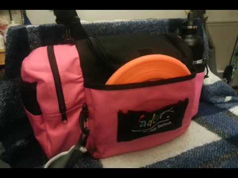 Fade Crunch Box Disc Golf Bag Youtube
